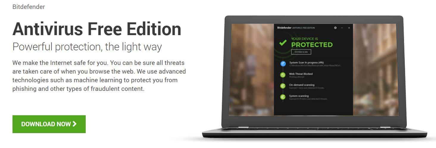 best free antivirus 2018 for laptop