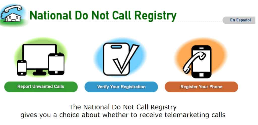 Do Not Call Registry