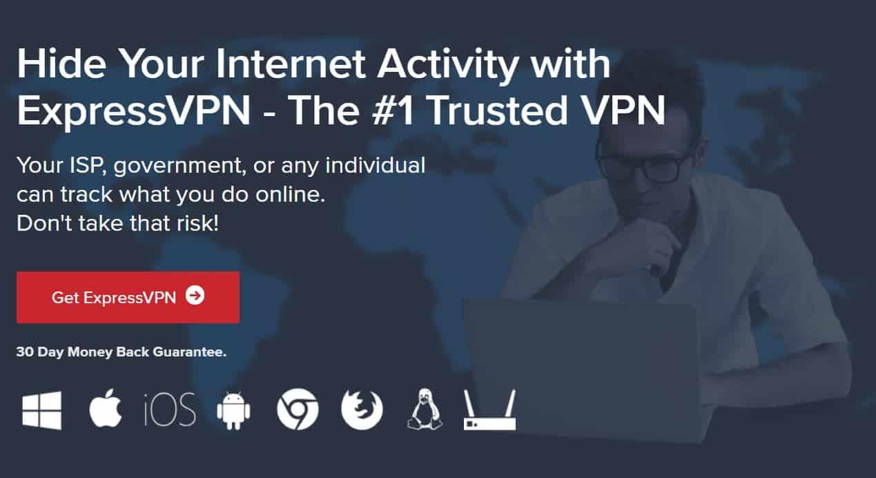 ExpresssVPN torrenting privately