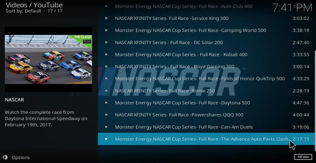 5 Best Nascar Kodi Addons and one to Avoid | Comparitech
