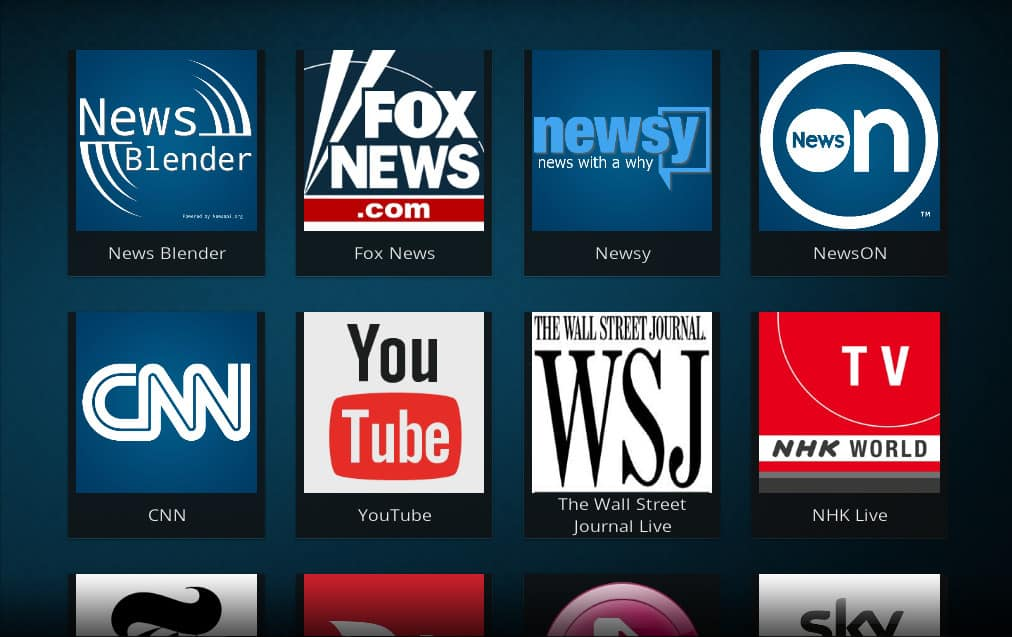 News Kodi addons: How to watch live news and clips on Kodi