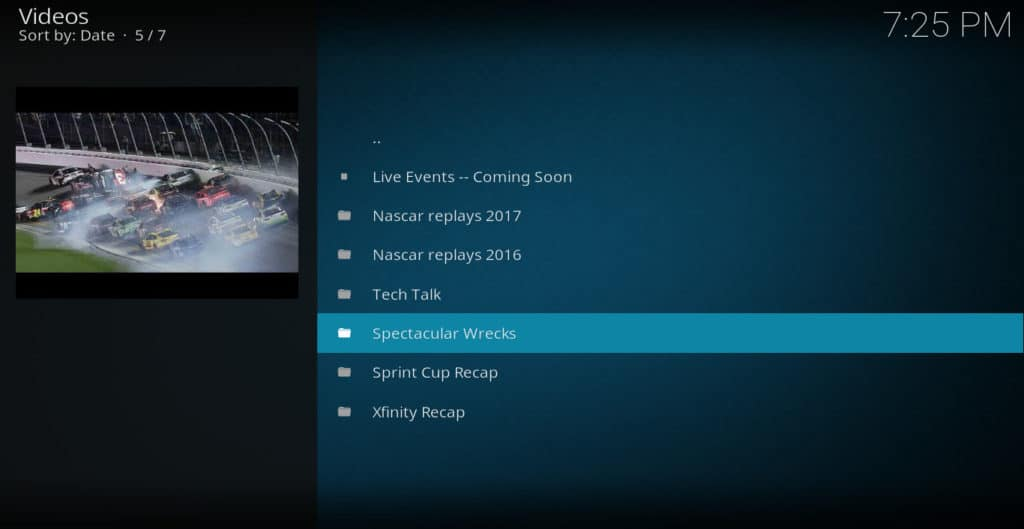 Revved Up Kodi addon