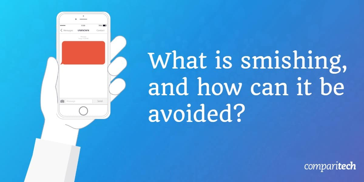 What is smishing