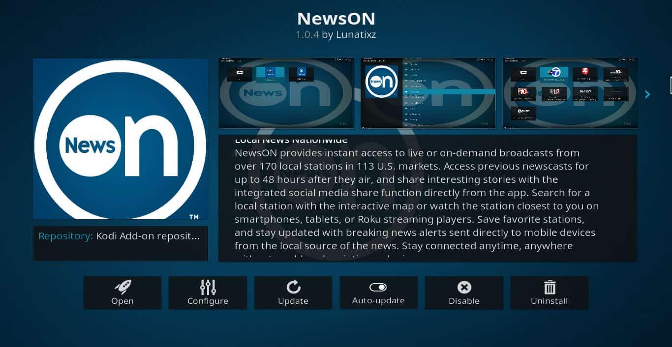 News Kodi addons: How to watch live news and clips on Kodi
