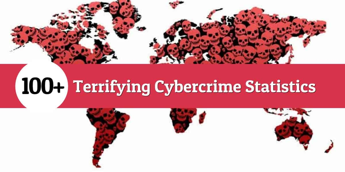 100 Terrifying Cybercrime And Cybersecurity Statistics
