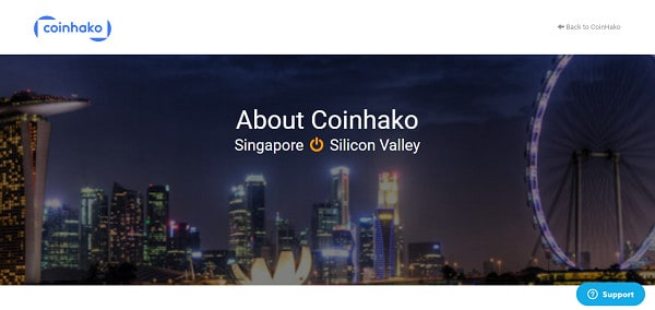 Coinhako screenshot