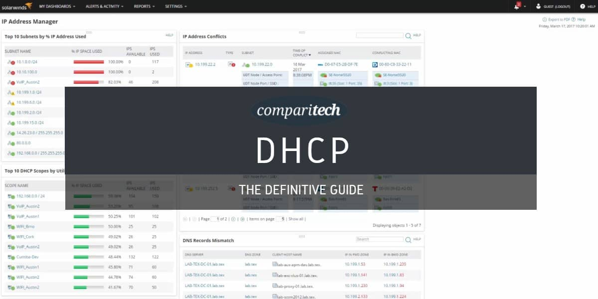 What Is Dhcp How Does It Work What Are The Best Ddi Ipam Systems
