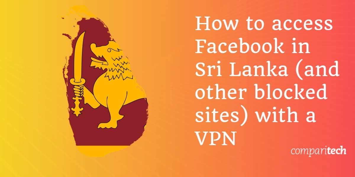access Facebook Sri Lanka
