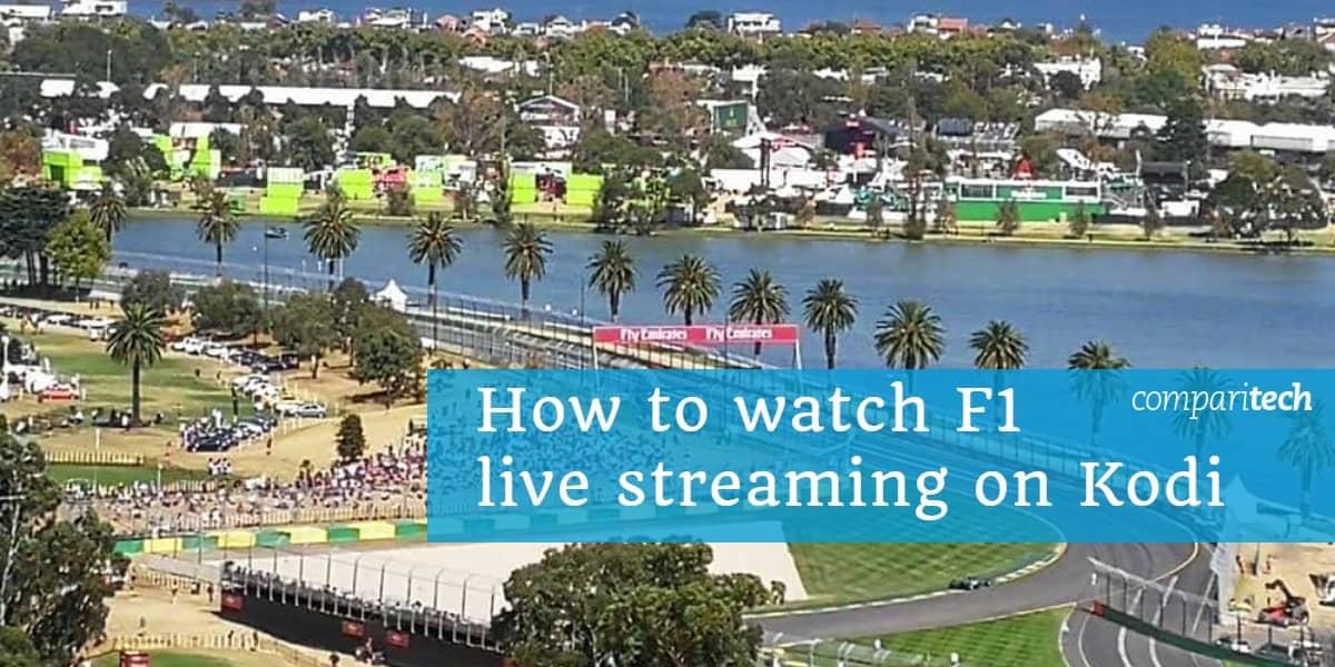 How to watch F1 live streaming on Kodi