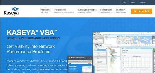 Kaseya Network Performance Monitoring