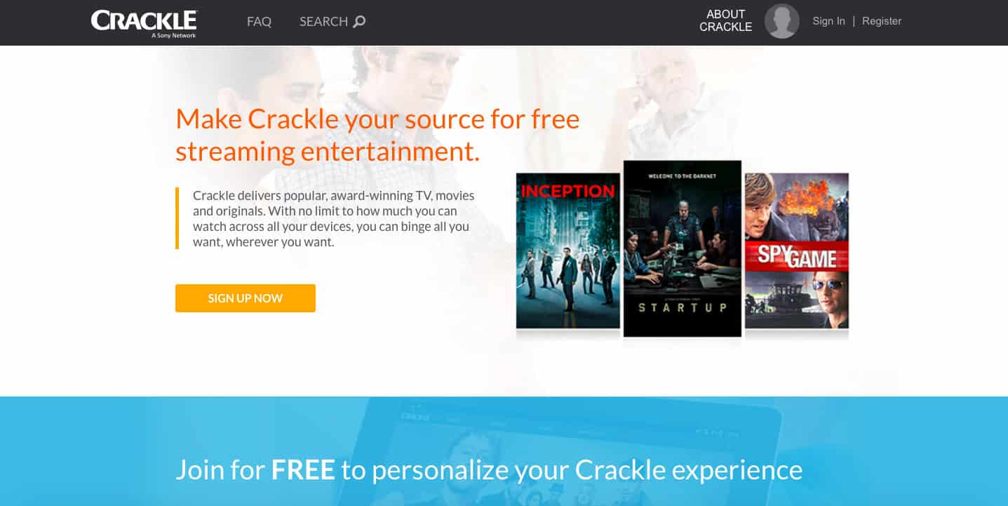 sony crackle app review