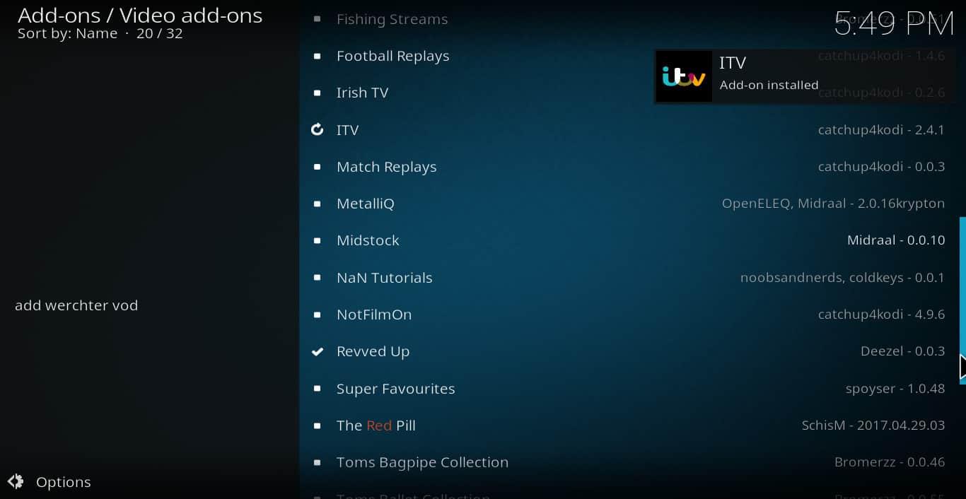 iTV Player Kodi addon: How to watch iTV Hub on Kodi | Comparitech
