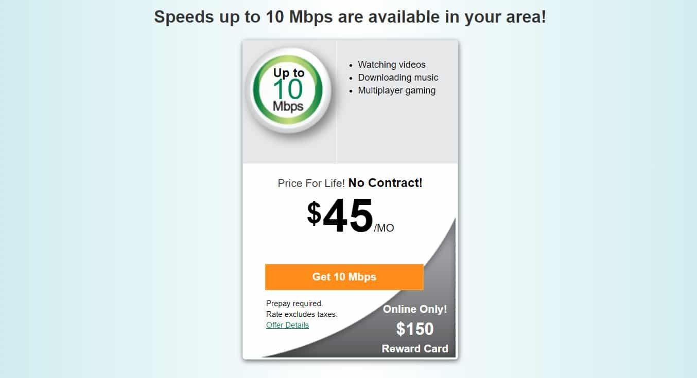 Increase the speed of the Internet in one of three ways