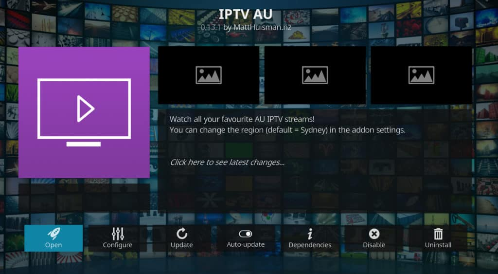 PlayStation Vue Kodi addon