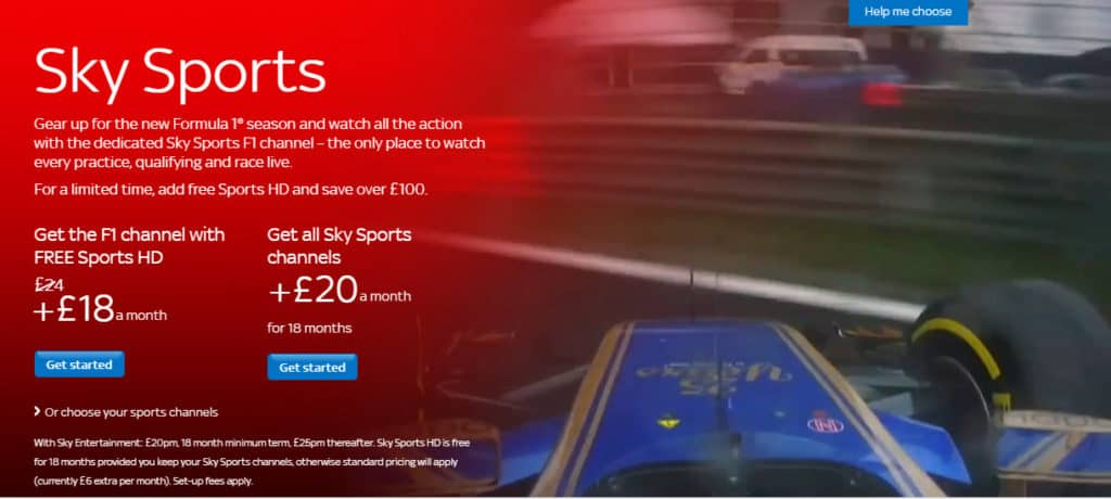Sky Sports F1 Live Streaming – Watch Sky Sports F1 Online