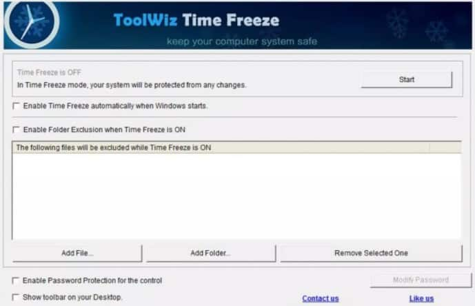 what is sandboxing toolwiz timefreeze