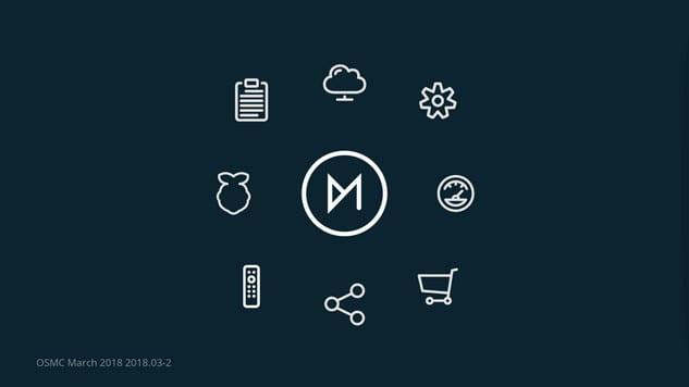 OSMC Kodi Main