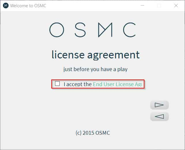 OSMC Select End User License Agreement