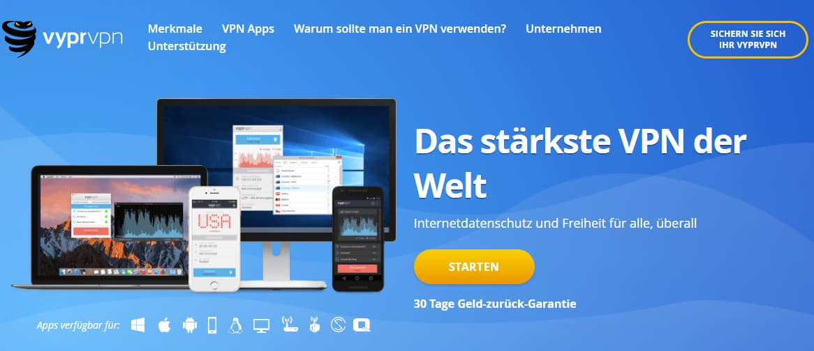 VyperVPN German
