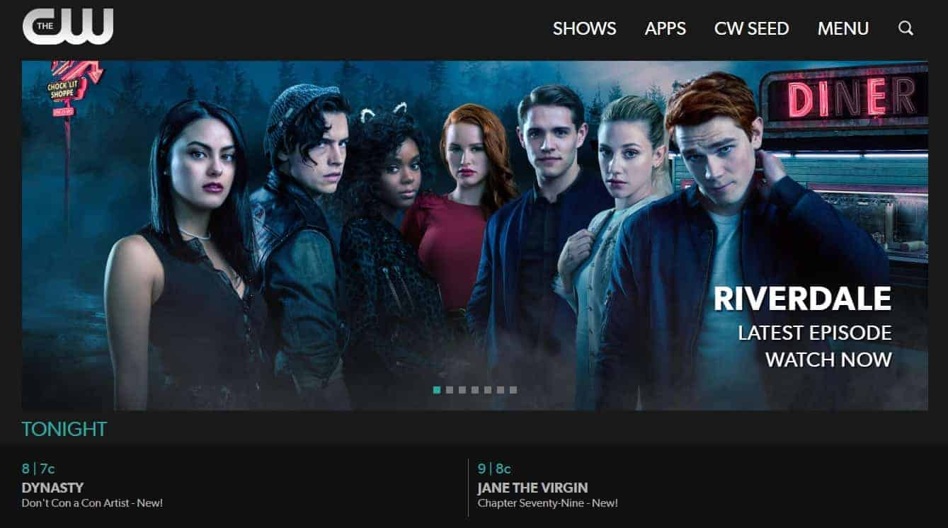 cw tv app free download for android