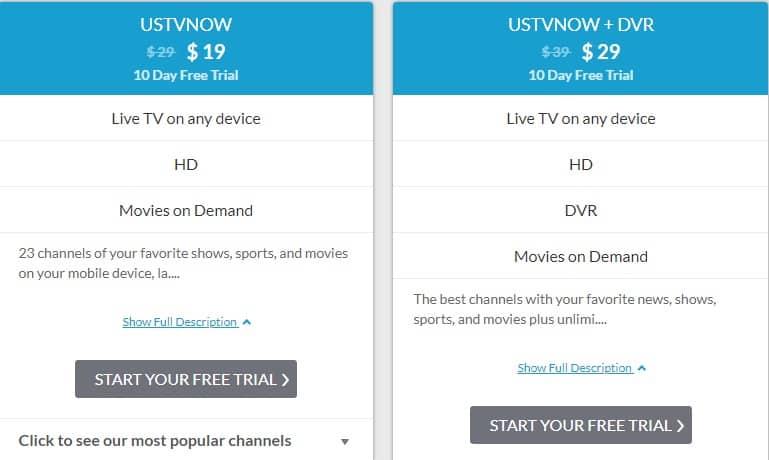 USTV Now 2020