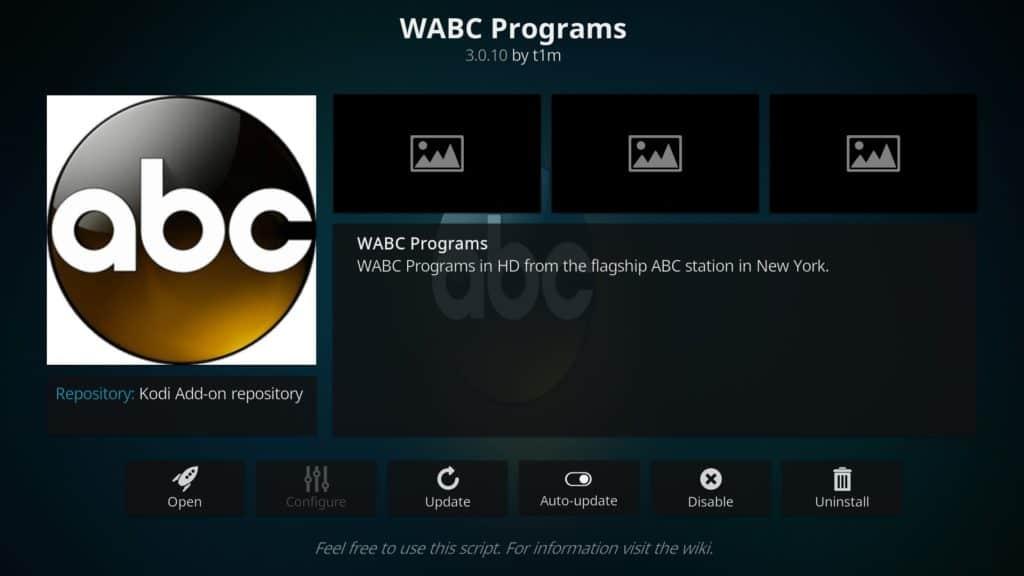 wabc programs addon