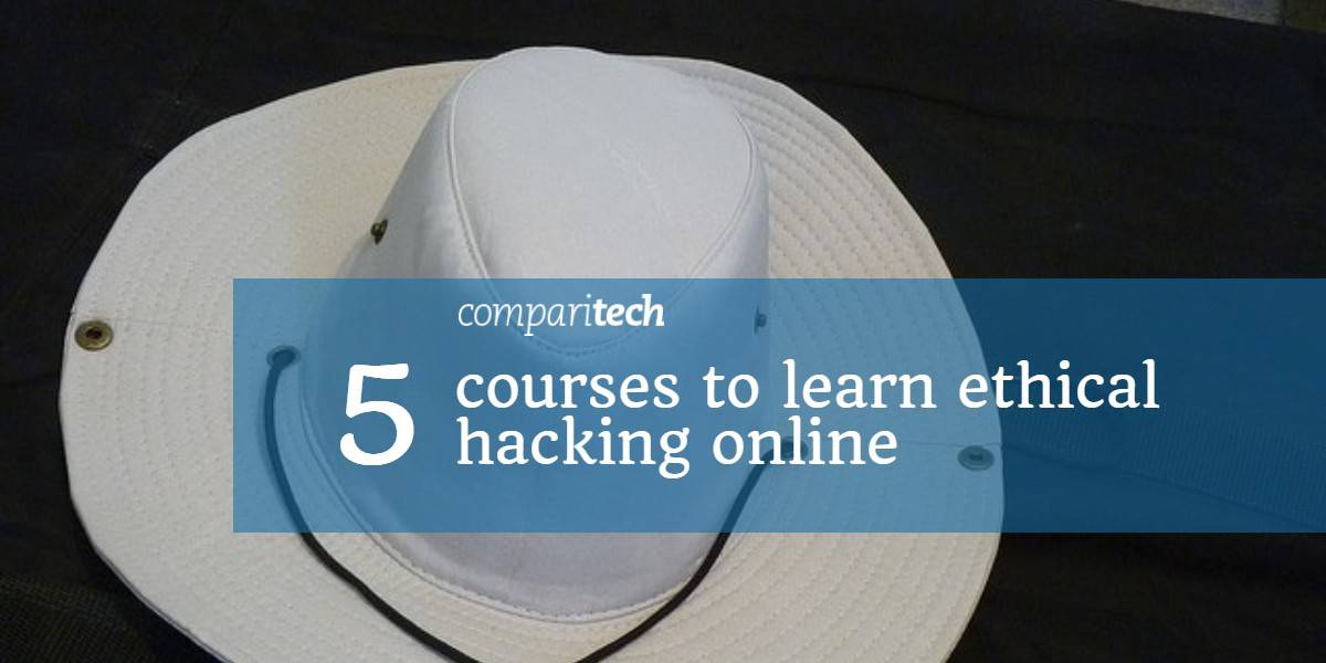5 courses to learn ethical hacking online - white hat