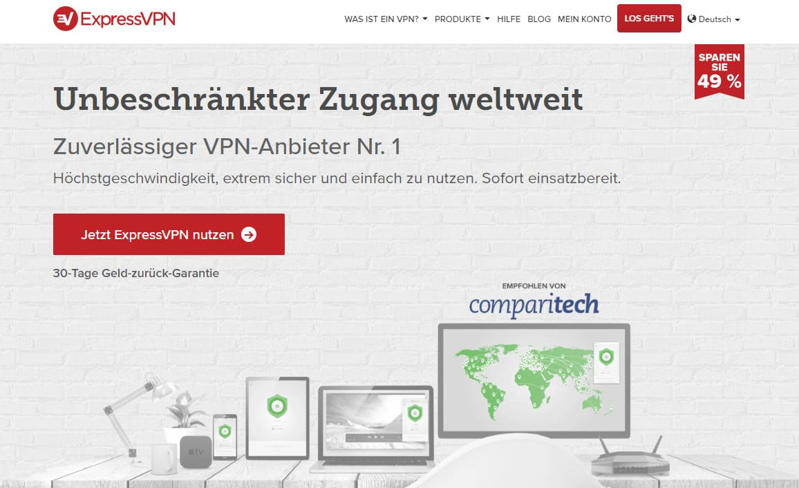 ExpressVPN-German