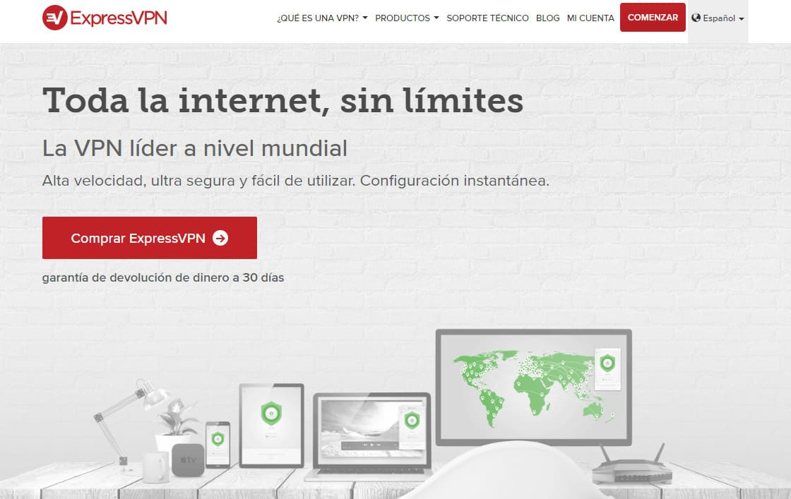 ExpressVPN Spanish