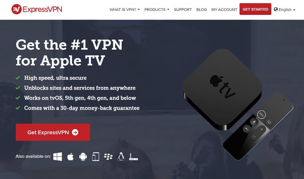 ExpressVPN appletv