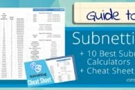 The Ultimate Guide to Subnetting – plus 10 Best Subnet Calculators & Cheat Sheet