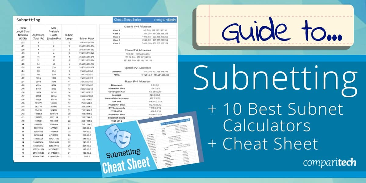 Subnetting Guide - Best Tools & Cheat Sheet