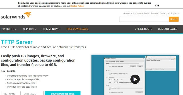 SolarWinds TFTP Server Review [With Screenshots] | Comparitech