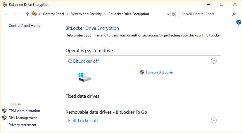 windows 7 encrypted files