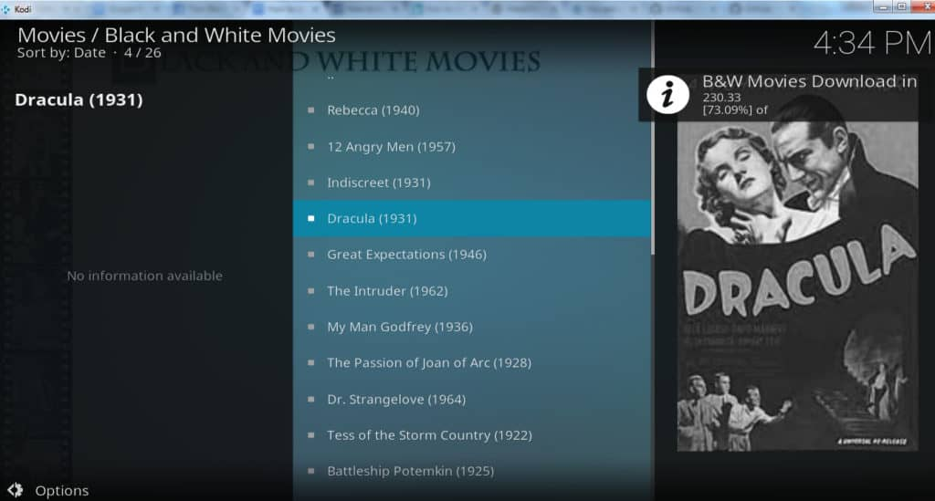black and white movies download