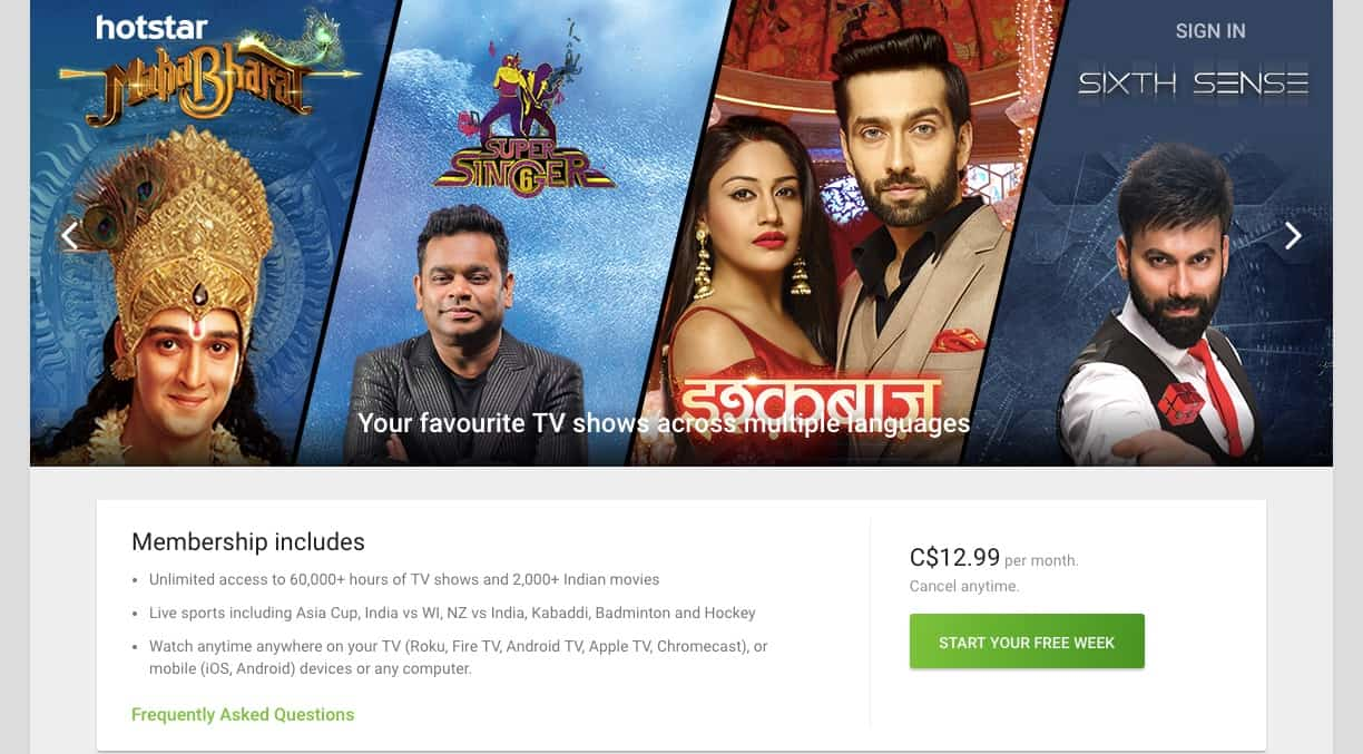 Hotstar India Screenshot