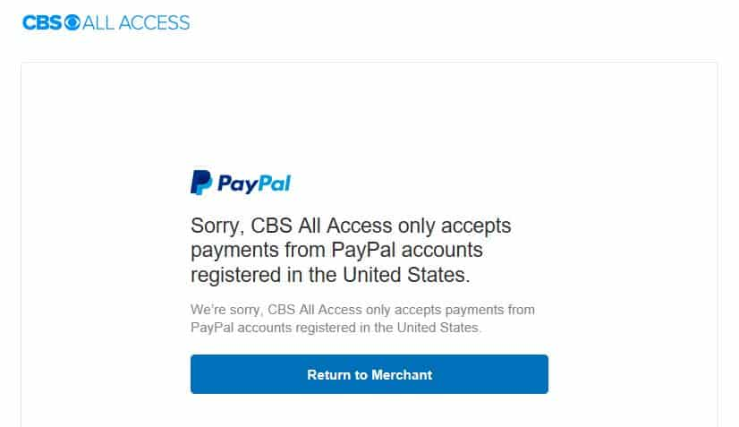 How to Watch CBS All Access Outside the US