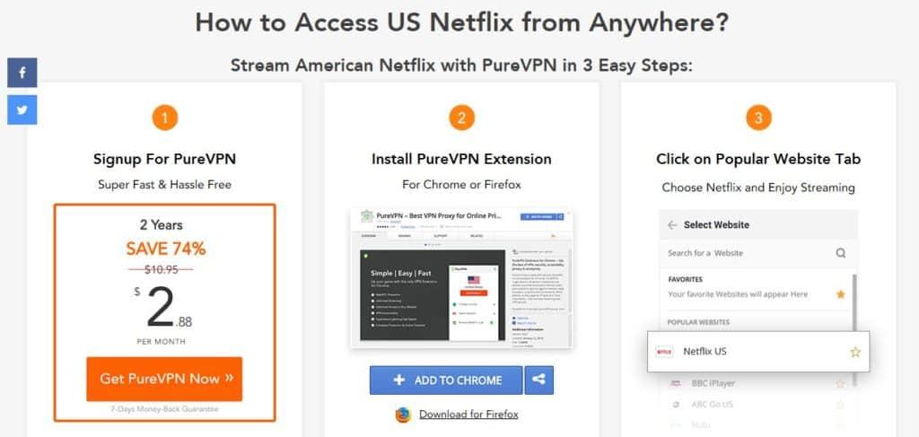 Does PureVPN unblock Netflix? We put it to the test | Comparitech