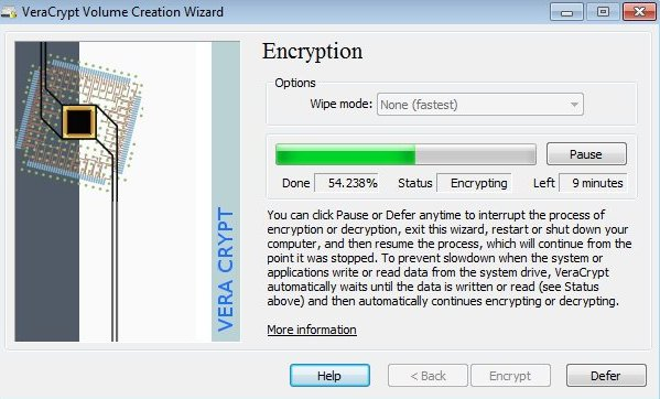 encrypt files and folders in Windows