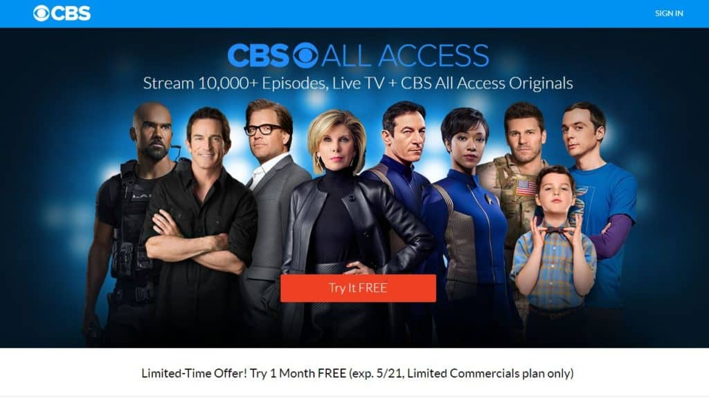 watch cbs online with a vpn