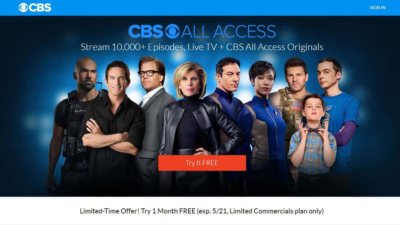 5 Best VPNs for CBS All Access to watch abroad (outside the US)