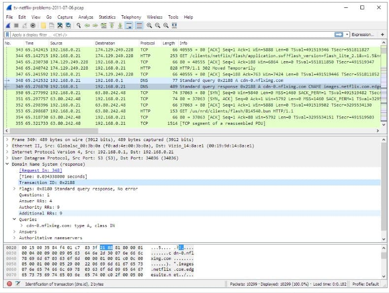 wireshark pentesting