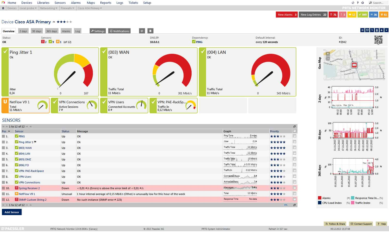 free network monitoring software for network management