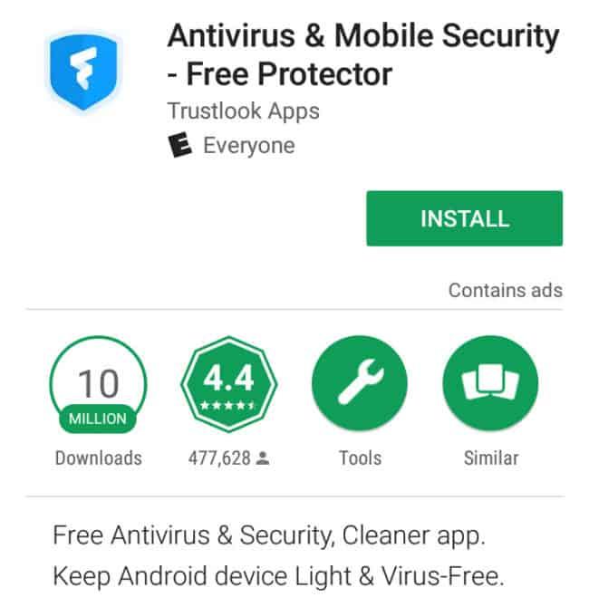 trustlook android antivirus