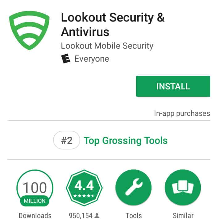 android antivirus lookout security