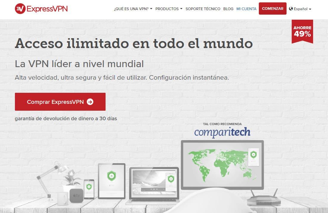ExpressVPN Spain