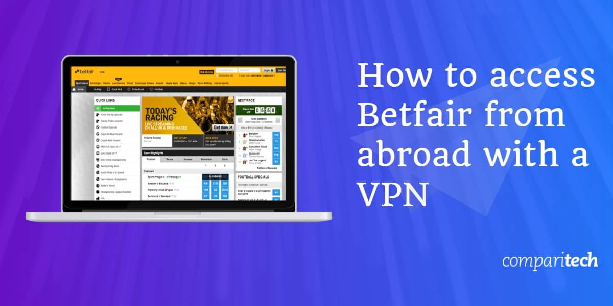 access Betfair abroad