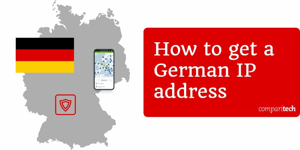 How to get a German IP address