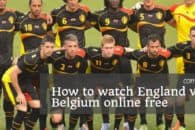 How watch England v Belgium online free (World Cup 2018)