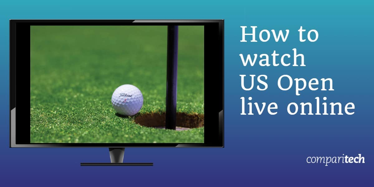 How to watch US Open Golf live online